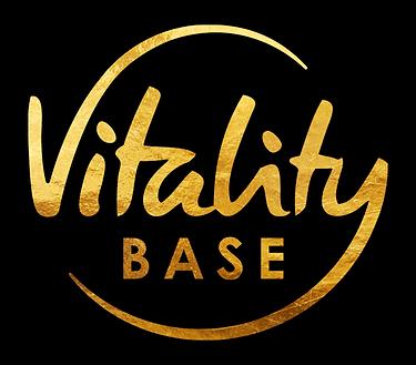 Vitality Base Logo golden kleiner schatt