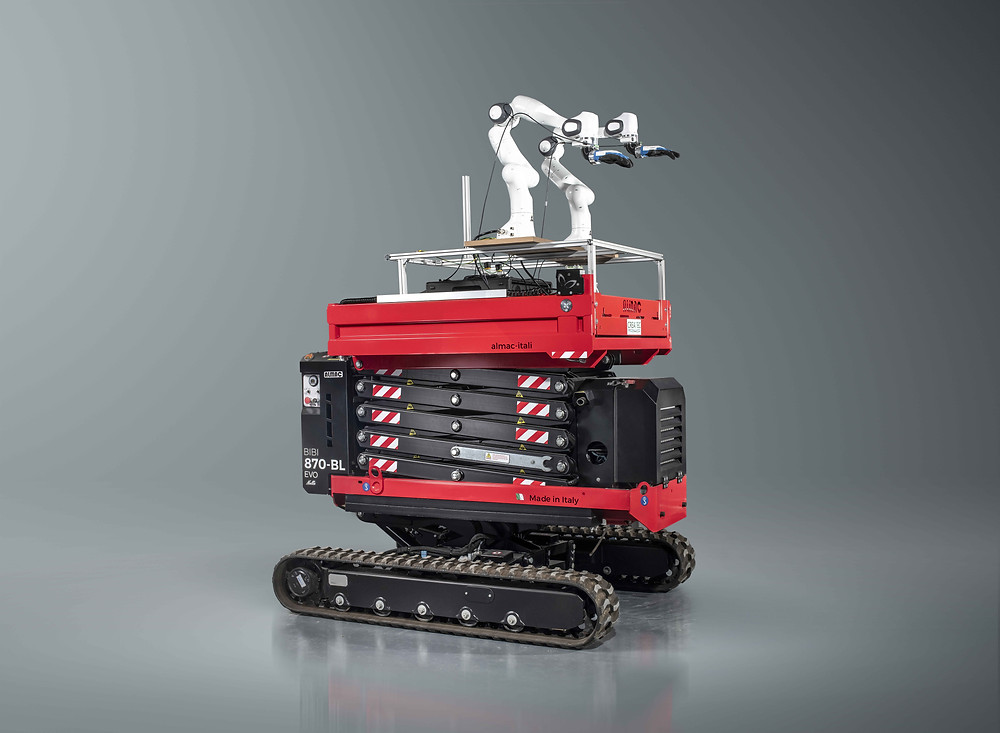 Createc's Elephants to Ants technology which has led to the formation of spin-out company Createc Robotics