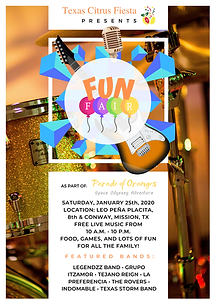 Fun Fair (Parade of Oranges) Texas Citru