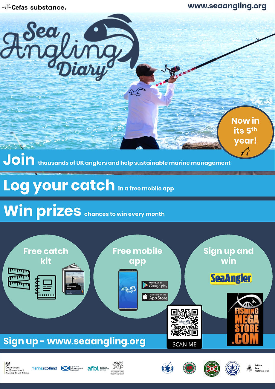 Sea Angling Diary Project 2020 Poster.jp