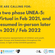 Youth constituency call for a two-phase UNEA-5 in light of COVID-19 pandemic