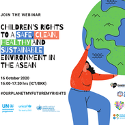 Register NOW - Children Rights for Healthy Environment webinar by UN and youth groups
