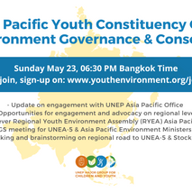 Asia-Pacific Regional Constituency Call - Sunday 23rd May!!