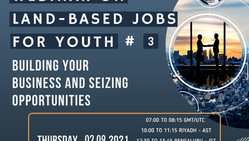 From UNCCD: 3rd Webinar on Land-Based Jobs for Youth - Building your business &seizing opportunities