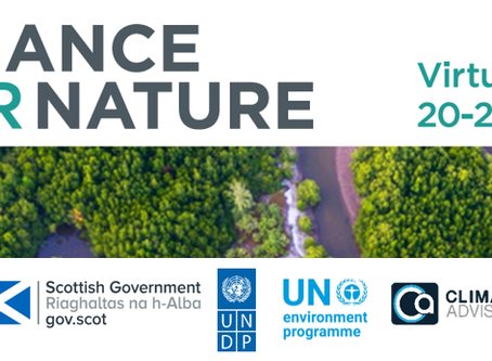 External Opportunity: Join the Finance for Nature Virtual Global Series, 20 – 21 July 2020