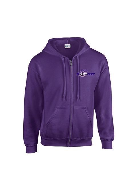 Super Hoopers purple Zoodie