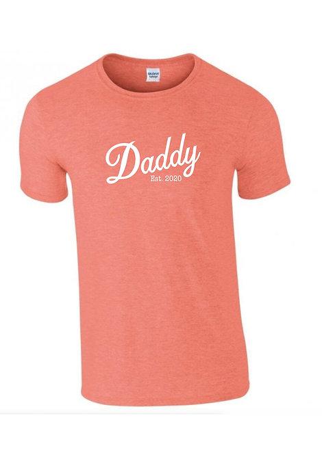 Daddy year T-shirt