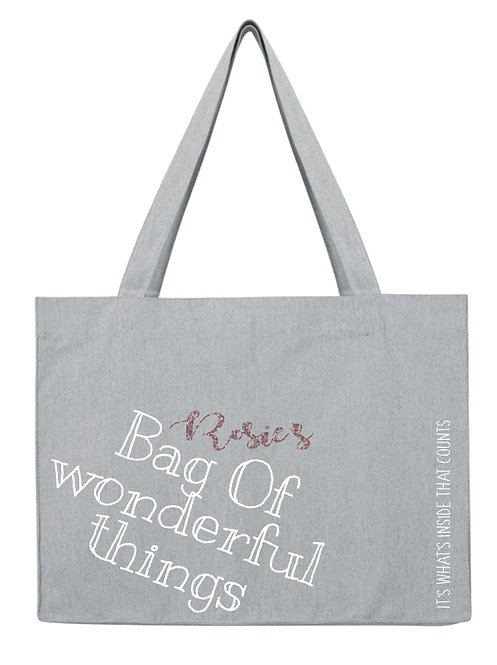 Personalised bag of wonderful things