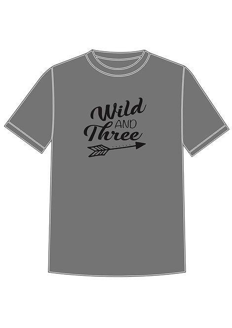 Children Wild and Three T-shirt