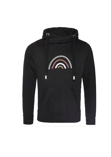 Sparkle rainbow hoodie