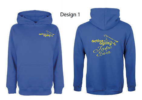 Active Agility Blue Hoodie