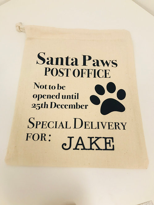 Pet Christmasgift sack