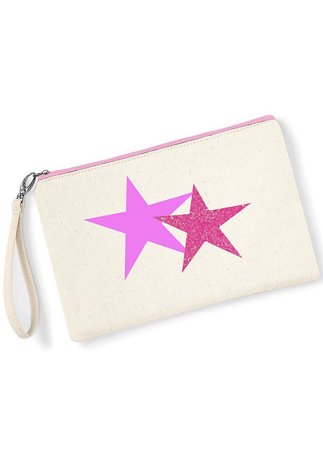 Star clutch bag