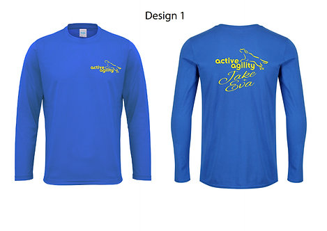 Active agility long sleeve T-shirt