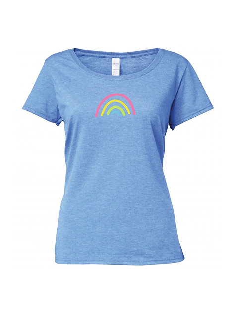 Ladies Rainbow T shirt