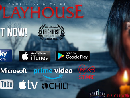 PLAYHOUSE RELEASED IN UK AND IRELAND!