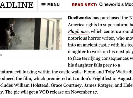 DEADLINE: PLAYHOUSE North America Release Date Announced!