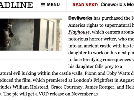 DEADLINE: PLAYHOUSE North America Release Date Announced!