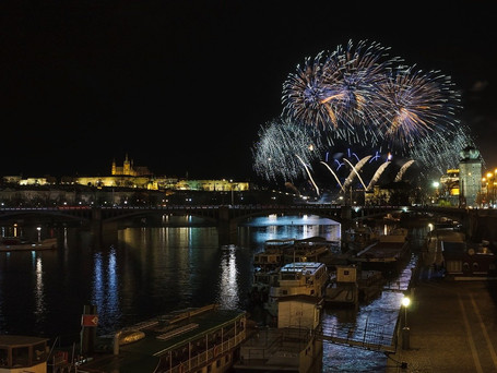 No fireworks in some parts of Prague