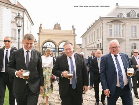 Pompeo meets President Zeman