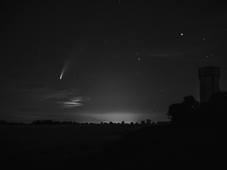 Have you seen Comet NEOWISE yet?