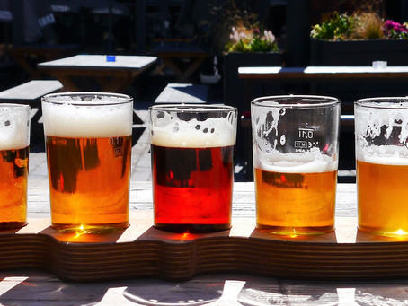 Beer production and consumption dropped