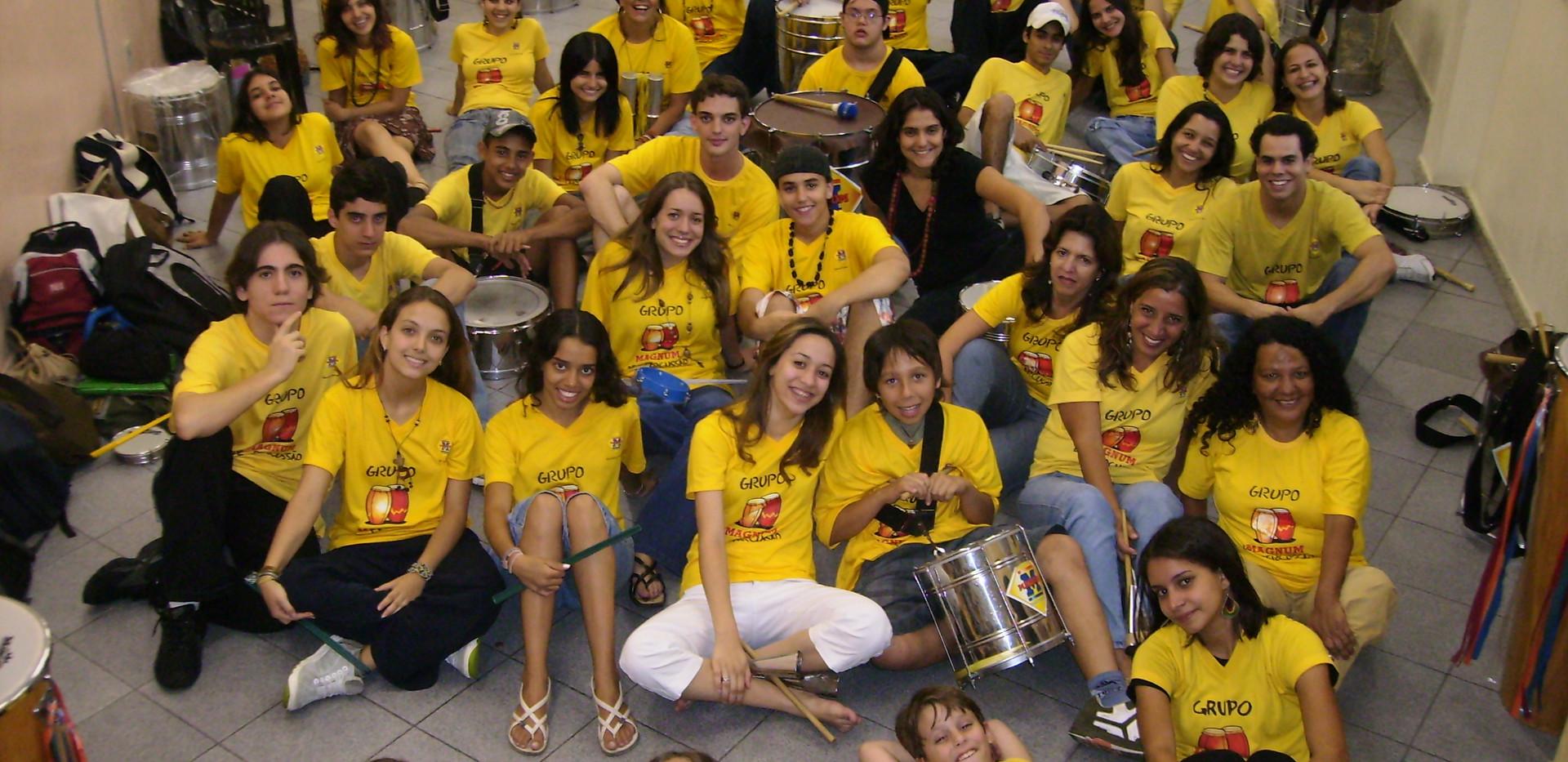 Grupo Magnum de Percussao, Belo Horizonte, 2008