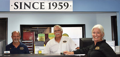 Terry and Ivan Inmon are the owners of Inmon Automotive.  Eric (Left) is the Service Manager.