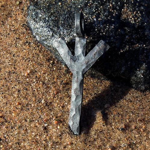 Algiz/Elhaz Rune Pendant