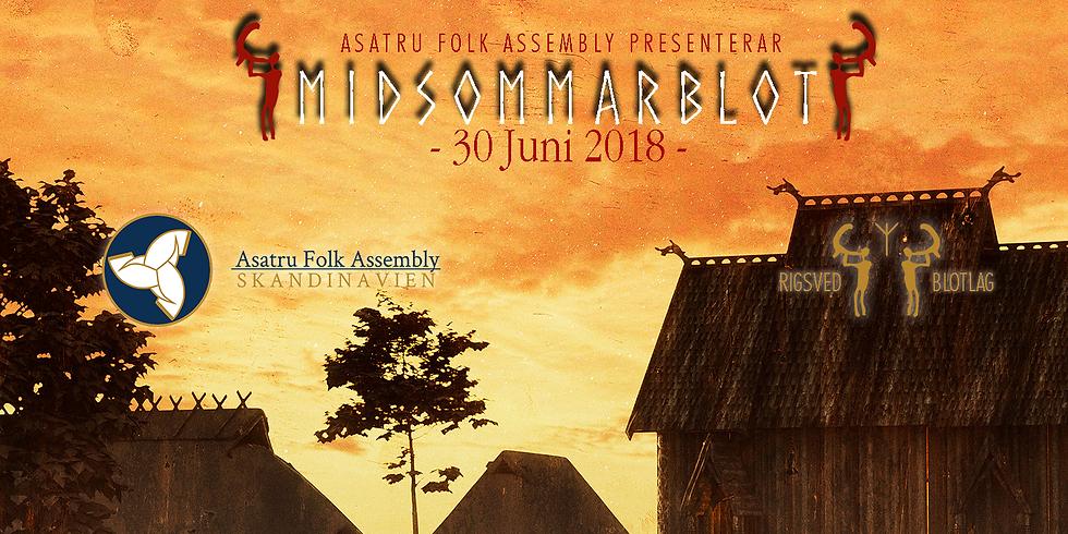 Midsommarblot 30 Juni 2018