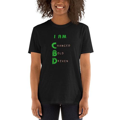I am CBD Short-Sleeve Unisex T-Shirt