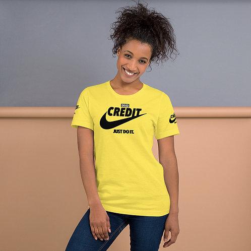 Good Credit | Short-Sleeve Unisex T-Shirt