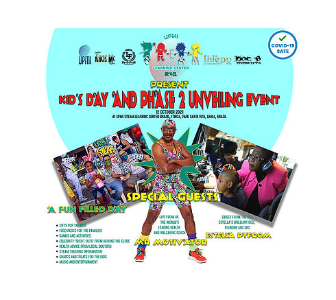 UPMI Kids day and phase 2 unveiling event oct 12 2021
