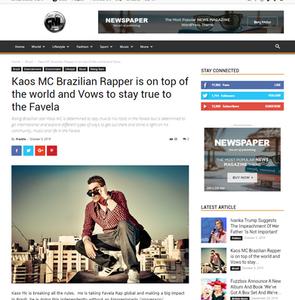 Kaos Mc on Top of the world