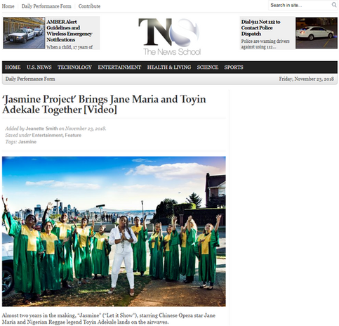 Jasmine - News School Article