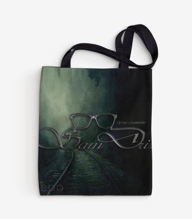 Sam Driz Tote bags