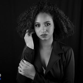 Grazie (Shlepp Models Hair shoot) 001 bw