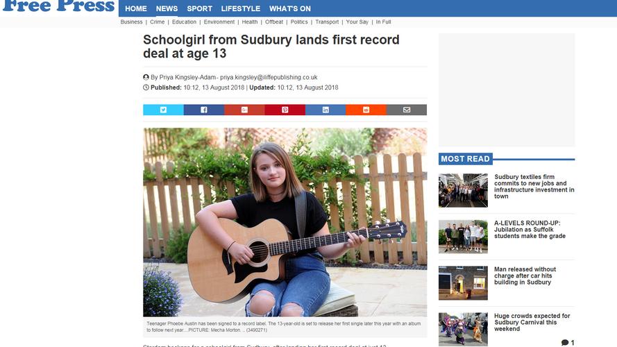 Suffolk free press August 13