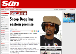 Snoop Dog and Ayi Jihu story