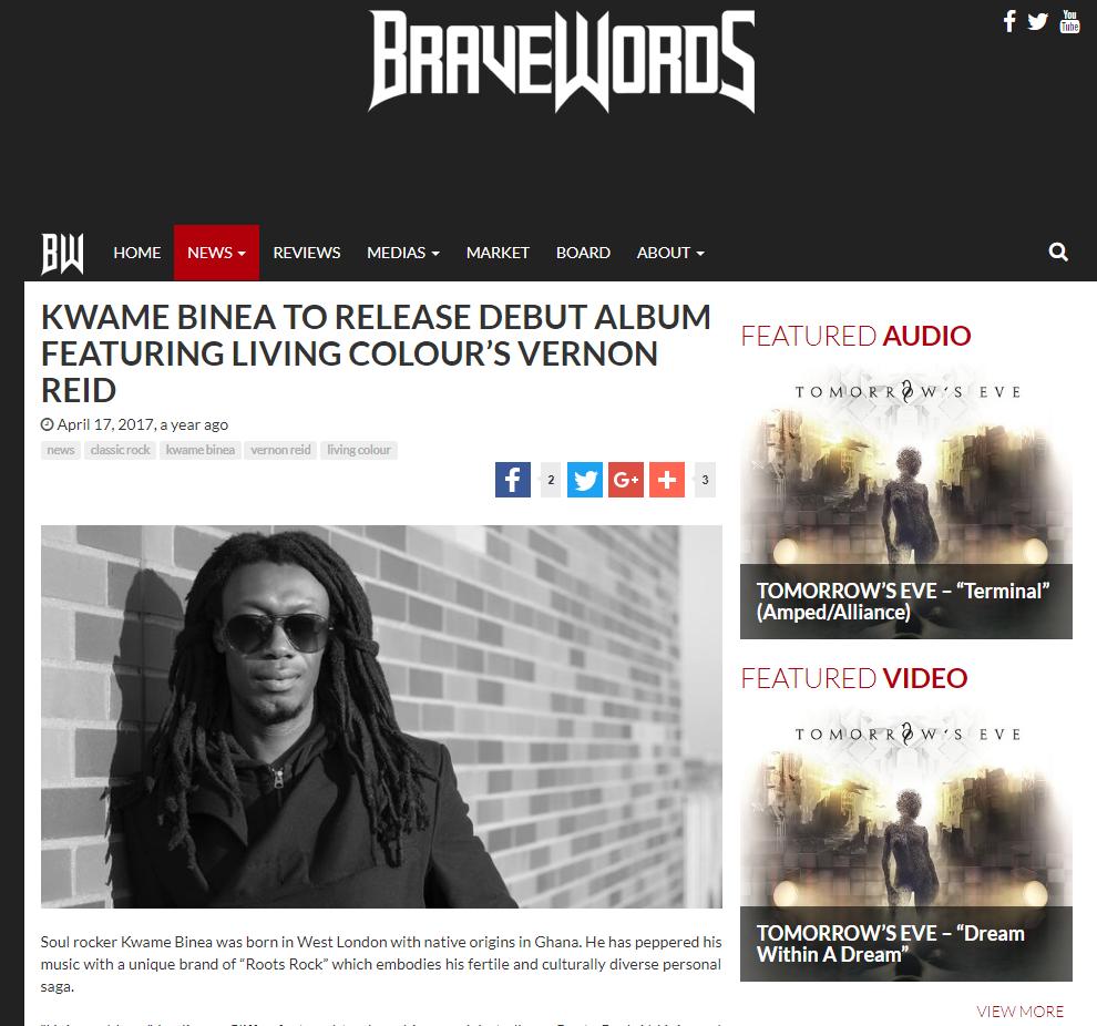Kwame Binea BraveWords review