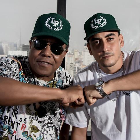 Kaos MC and Tito Jackson