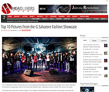 Headliners Daily G Salvatore Fashion top 10 article