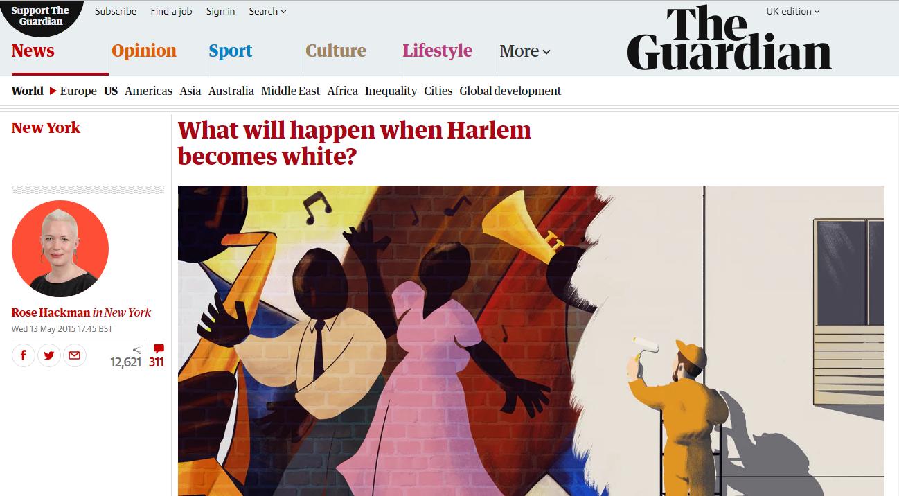 Kwame Binea featured in the UK Gaurdian Online