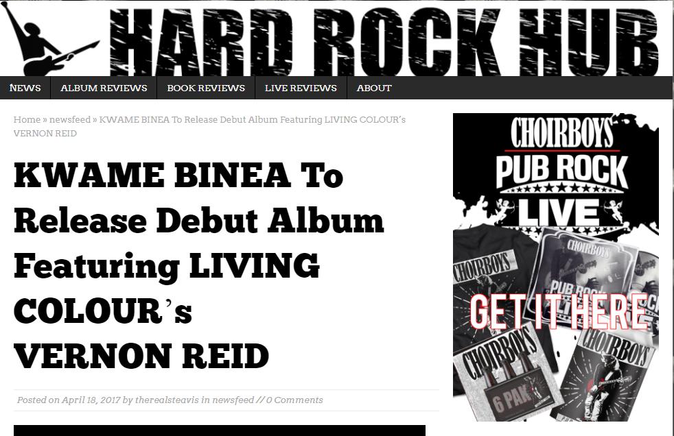 Kwame Binea Hard Rock Hub reveiw