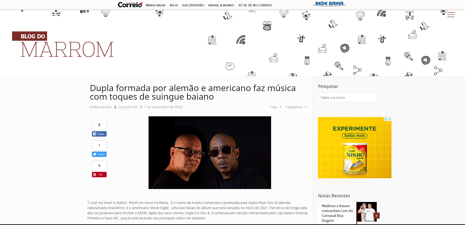 Blog Do Marrom