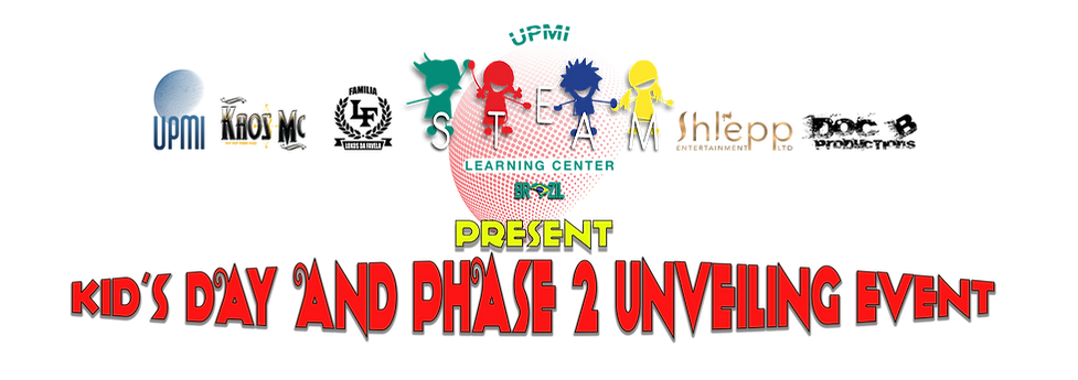 upmi steam Kids day and phase 2 unveiling event