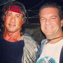 James W Smith With Sly Stallone