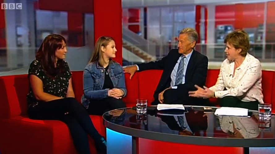 phoebe on bbc look east