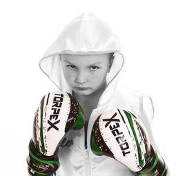 Tyler Ford, campeão de boxe infantil