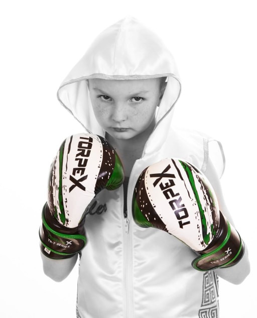 Kids Boxing champion Tyler Ford